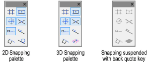 Setting Snapping Parameters