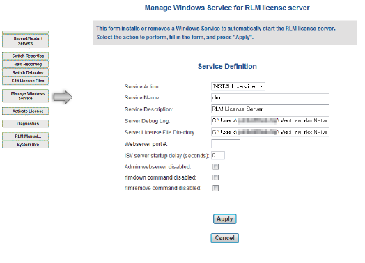 Registering a Windows Service
