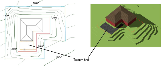 Creating a Texture Bed