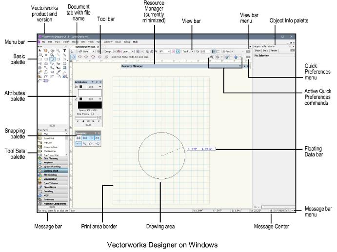Application Window