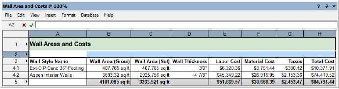 Worksheet Tutorial: Creating a Wall Schedule